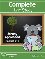 Homeschool Complete Unit Study: Johnny Appleseed