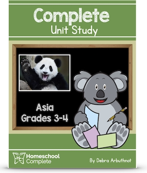 Homeschool Complete Unit Study: Asia