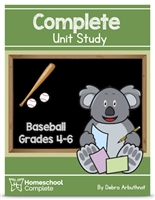 Homeschool Complete Unit Study: Baseball