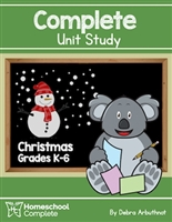 Homeschool Complete Unit Study: Christmas