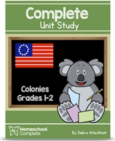 Homeschool Complete Unit Study: Colonies