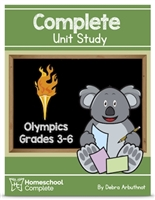 Homeschool Complete Unit Study: Olympics