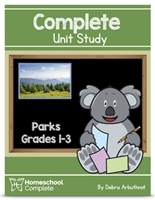 Homeschool Complete Unit Study: Parks