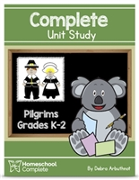 Homeschool Complete Unit Study: Pilgrims