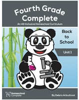 Homeschool Complete Unit Study: Back to School