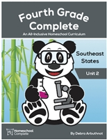 Homeschool Complete Unit Study: Southeast States