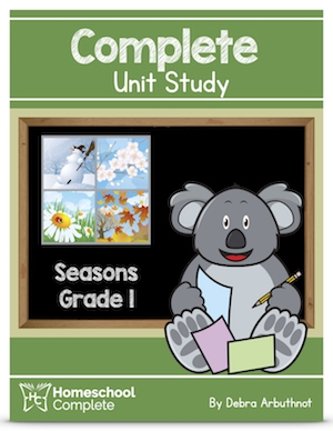 Homeschool Complete Unit Study Seasons