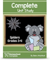 Homeschool Complete Unit Study: Spiders