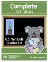 Homeschool Complete Unit Study: US Symbols