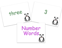 Number Words Flashcards
