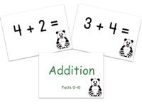 Addition Flashcards: Facts 0-10