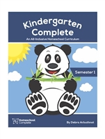 Kindergarten Complete Teacher's Manual (Including Student Workbook) Semester One: Download