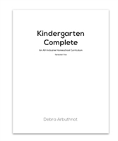 Kindergarten Complete Student Workbook Refill Pages: Semester One