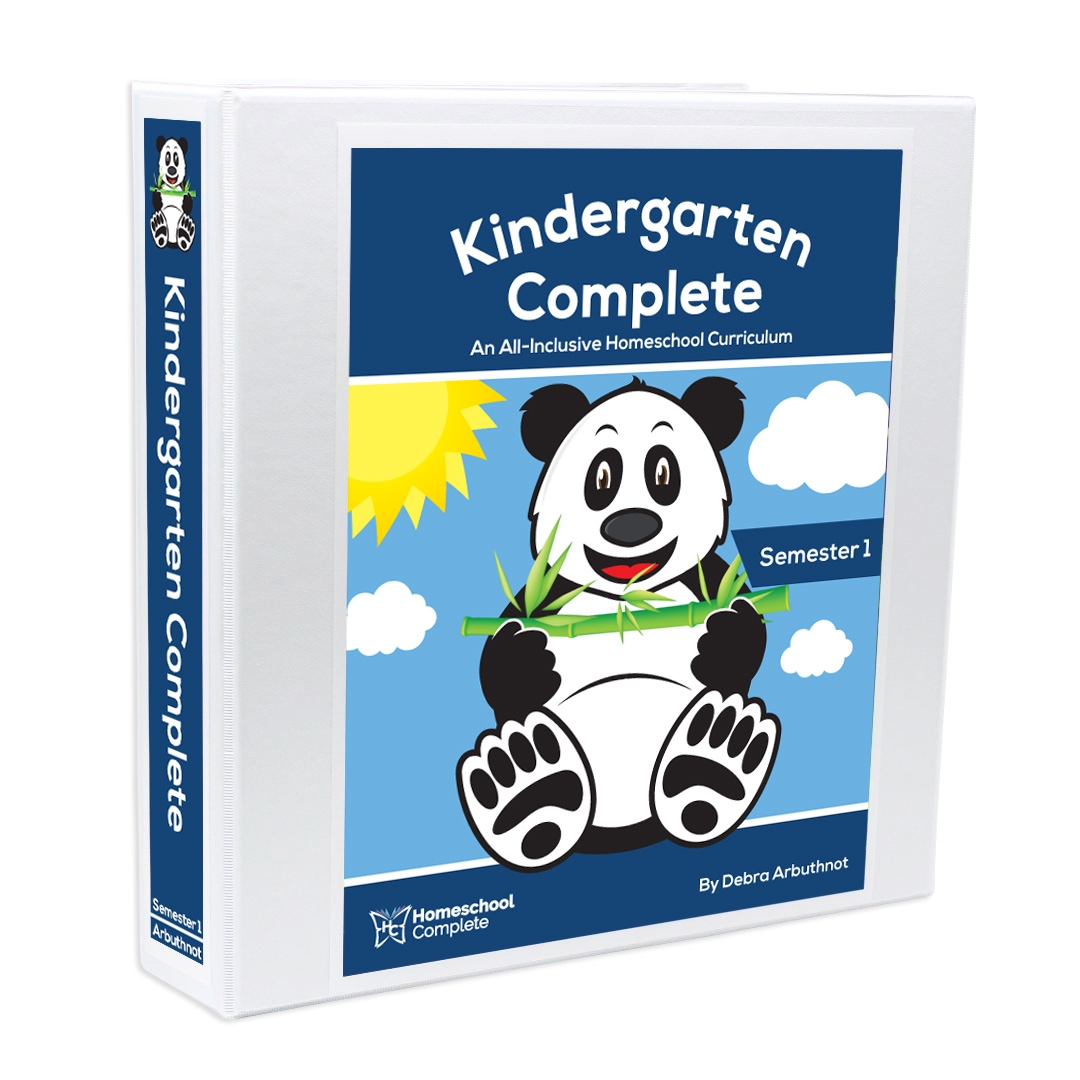 Kindergarten Complete: An All-Inclusive Homeschool Curriculum ...