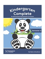 Kindergarten Complete Teacher's Manual (Including Student Workbook) Semester Two: Download