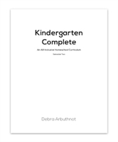 Kindergarten Complete Student Refill Pages: Semester Two