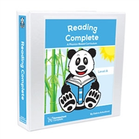 Reading Complete Level A Teacher's Manual and student workbook pages