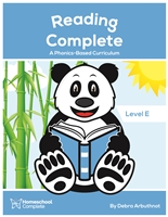 Reading Complete A Phonics-Based Curriculum: Level E
