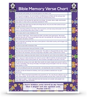 Second Grade Complete: An All-Inclusive Homeschool Curriculum- Bible Verse Chart Semester One