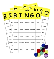 Sight Words Bingo Game: second grade level
