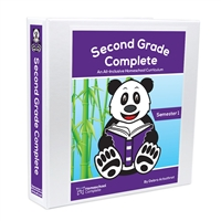 Second Grade Complete Teacher's Manual (Including Student Workbook): Semester One