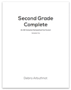 Second Grade Complete Student Workbook Refill Pages: Semester One