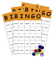 Sight Words Bingo Game: third grade level
