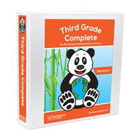 Third Grade Complete Student Workbook Semester One