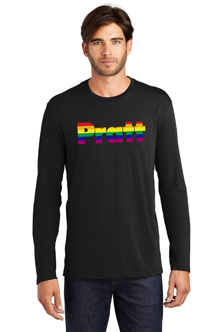 Pratt Pride District Made® Men's Perfect Weight® Long Sleeve Tee