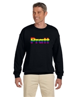 "Pride Heavy Blendâ""¢ Crewneck Sweatshirt - Black - XX-Large"