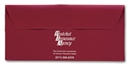 Vinyl Document Envelopes 10 5/16 x 4 7/8""