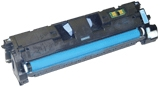 HP C9701A / Q3961A / 7432A005AA Remanufactured Toner Cartridge - Cyan