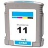 HP C4836A (#11) Remanufactured Ink Cartridge - Cyan