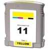 HP C4838A (#11) Remanufactured Ink Cartridge - Yellow