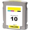 HP C4842A (#10) Remanufactured Ink Cartridge - Yellow