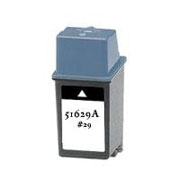 HP 51629A (#29) Remanufactured Ink Cartridge - Black