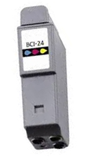 Canon BCI 21 / 24  Remanufactured High Yield Ink Cartridge - Tri-Color