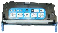 HP Q7561A Remanufactured Toner Cartridge - Cyan