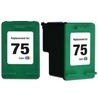 HP CB337WN (#75) Remanufactured Ink Cartridge - Tri-Color