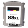 HP C9396AN (#88XL) Remanufactured Ink Cartridge - Black