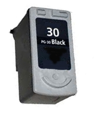 Canon 1899B002 (PG-30) Remanufactured Ink Cartridge - Black