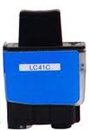 Brother LC41C Remanufactured Ink Cartridge - Cyan