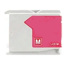 Brother LC51M Remanufactured Ink Cartridge - Magenta