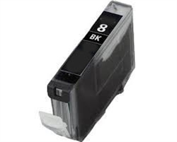 Canon 0620B002 (CLI-8BK) Remanufactured Ink Cartridge - Ink Tank, Black