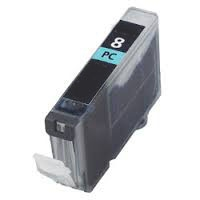 Canon 0624B002 (CLI-8PC) Remanufactured Ink Cartridge - Ink Tank, Photo Cyan