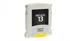 HP C4817A (#13) Remanufactured Ink Cartridge - Yellow