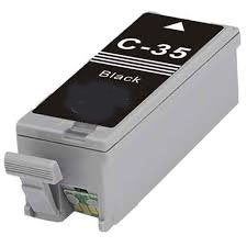Canon 1509B002 (PGI-35) Remanufactured Ink Cartridge - Black
