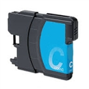 Brother LC61C / LC65C Remanufactured High Yield Ink Cartridge - Cyan