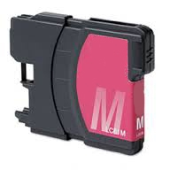 Brother LC61M / LC65M Remanufactured High Yield Ink Cartridge - Magenta