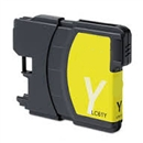 Brother LC61Y / LC65Y Remanufactured High Yield Ink Cartridge - Yellow